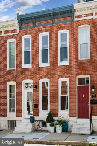1529 Marshall Street, BALTIMORE, MD 21230 (#MDBA474190) :: Dart Homes