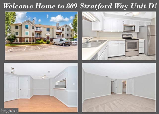 809-D Stratford Way 1400D, FREDERICK, MD 21701 (#MDFR249324) :: Jim Bass Group of Real Estate Teams, LLC