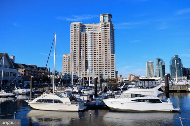100 Harborview Drive #212, BALTIMORE, MD 21230 (#MDBA475674) :: ExecuHome Realty