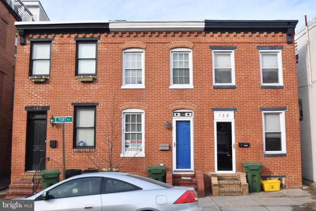 136 E Fort Avenue, BALTIMORE, MD 21230 (#MDBA476462) :: Kathy Stone Team of Keller Williams Legacy