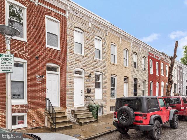427 N Castle Street, BALTIMORE, MD 21231 (#MDBA477014) :: Tessier Real Estate