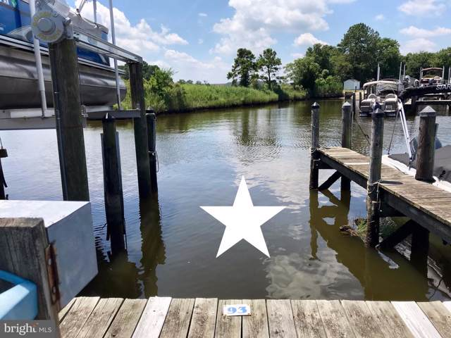 Naomi/White's Creek Marina #93, OCEAN VIEW, DE 19970 (#DESU144486) :: Barrows and Associates