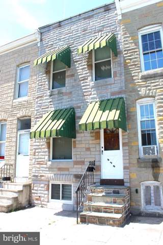 438 S Smallwood Street, BALTIMORE, MD 21223 (#MDBA477334) :: Network Realty Group