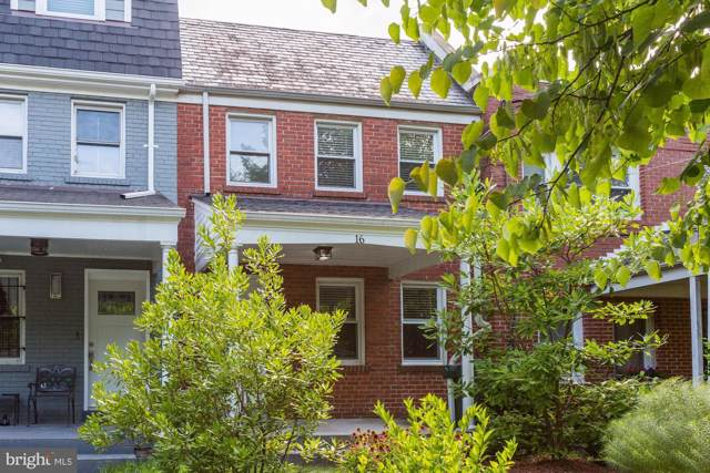16 Farragut Place NW, WASHINGTON, DC 20011 (#DCDC435806) :: Browning Homes Group
