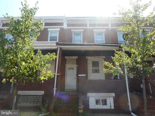 611 N Ellwood Avenue, BALTIMORE, MD 21205 (#MDBA477720) :: Radiant Home Group