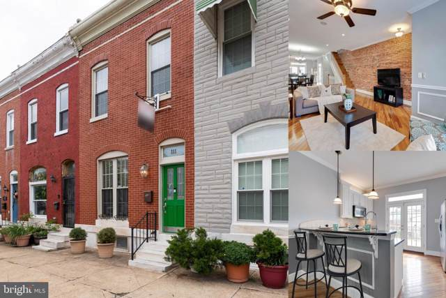 111 N Luzerne Avenue, BALTIMORE, MD 21224 (#MDBA477868) :: The Maryland Group of Long & Foster Real Estate