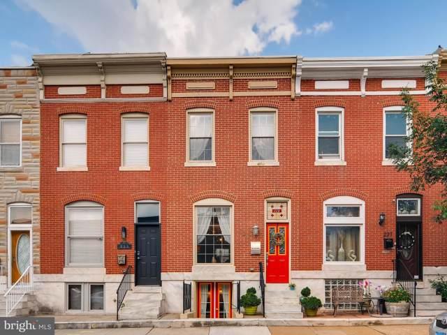 225 S Bouldin Street, BALTIMORE, MD 21224 (#MDBA477936) :: John Smith Real Estate Group