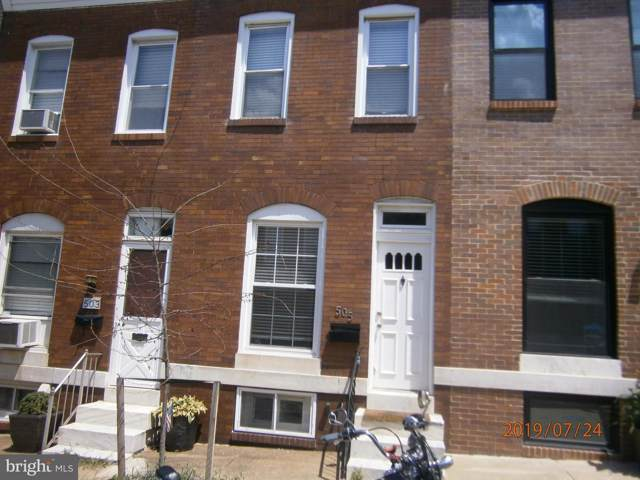 505 S Curley Street, BALTIMORE, MD 21224 (#MDBA477956) :: Homes to Heart Group