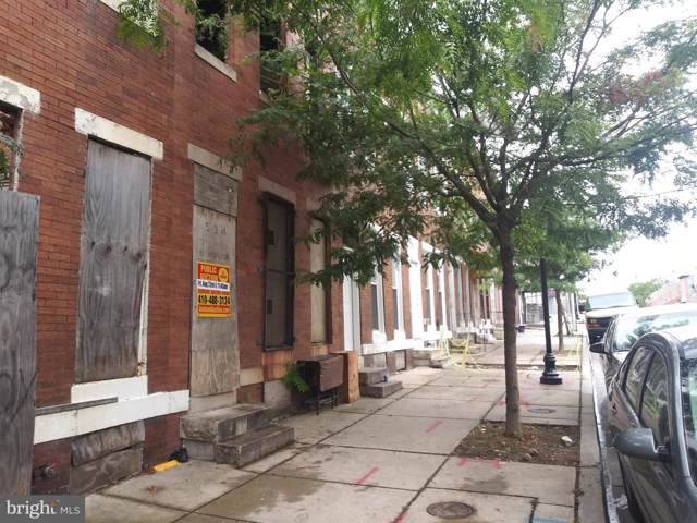534 N Payson Street, BALTIMORE, MD 21223 (#MDBA478550) :: The Gold Standard Group