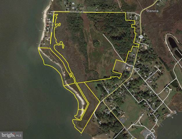 0 Parkinson Road, DEAL ISLAND, MD 21821 (#MDSO102474) :: Network Realty Group