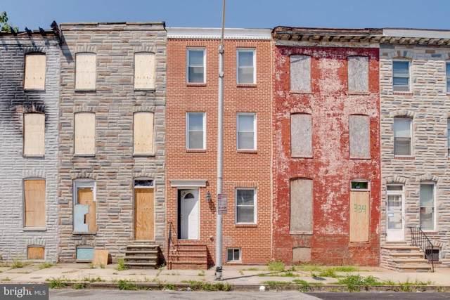 336 S Stricker Street, BALTIMORE, MD 21223 (#MDBA479098) :: Radiant Home Group