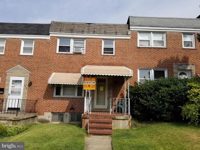 4910 Aberdeen Avenue, BALTIMORE, MD 21206 (#MDBA479266) :: HergGroup Horizon