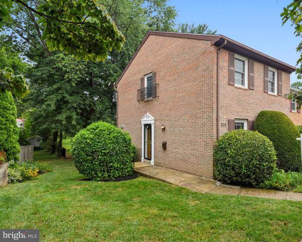 215 Commons Drive NW, VIENNA, VA 22180 (#VAFX1082296) :: RE/MAX Cornerstone Realty