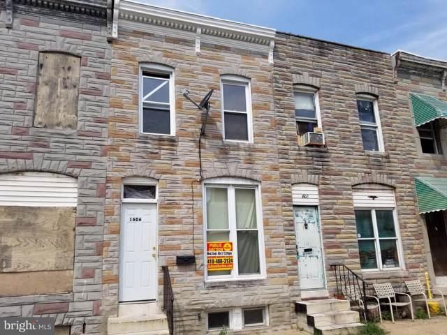 1606 N Washington Street, BALTIMORE, MD 21213 (#MDBA479428) :: Radiant Home Group