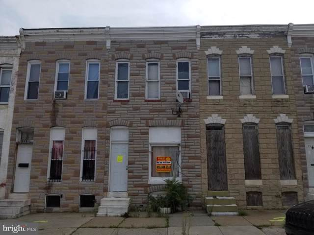 1523 N Patterson Park Avenue, BALTIMORE, MD 21213 (#MDBA479580) :: Radiant Home Group