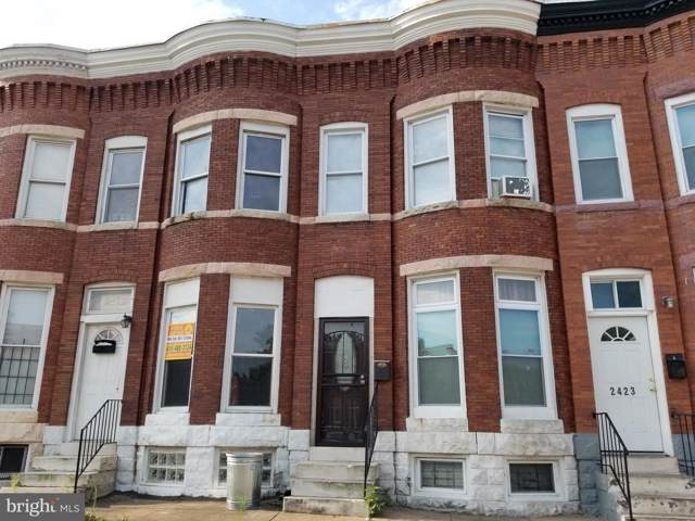 2427 E Federal Street, BALTIMORE, MD 21213 (#MDBA479582) :: Radiant Home Group
