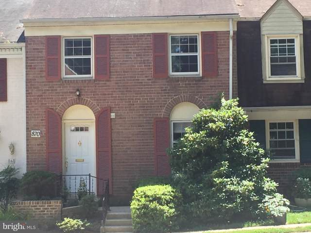 870 Azalea Drive #21, ROCKVILLE, MD 20850 (#MDMC673854) :: The Licata Group/Keller Williams Realty