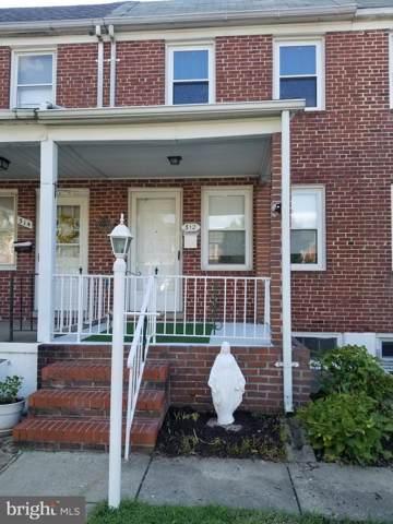 312 Hornel Street, BALTIMORE, MD 21224 (#MDBA479880) :: The Gold Standard Group