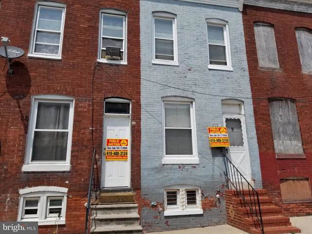 2234 Booth Street, BALTIMORE, MD 21223 (#MDBA479978) :: Advance Realty Bel Air, Inc