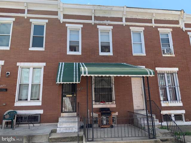 2433 Lauretta Avenue, BALTIMORE, MD 21223 (#MDBA480208) :: The Maryland Group of Long & Foster Real Estate