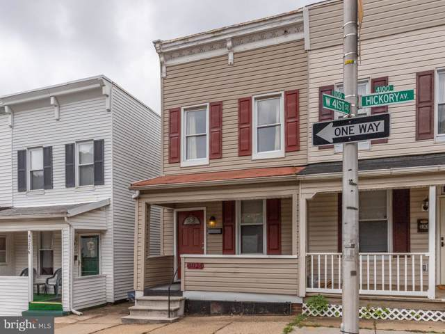 4024 Hickory Avenue, BALTIMORE, MD 21211 (#MDBA480546) :: Homes to Heart Group