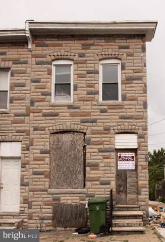 200 S Smallwood Street, BALTIMORE, MD 21223 (#MDBA480874) :: ExecuHome Realty