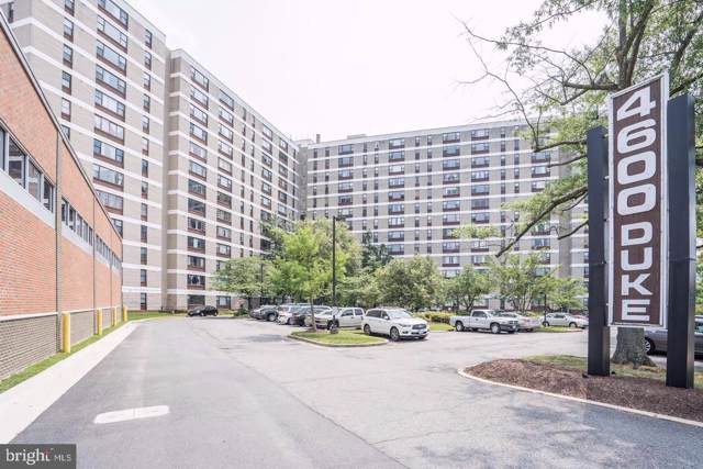 4600 Duke Street #919, ALEXANDRIA, VA 22304 (#VAAX238920) :: Keller Williams Pat Hiban Real Estate Group