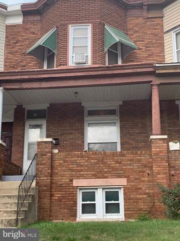 826 N Bentalou Street, BALTIMORE, MD 21216 (#MDBA481100) :: Homes to Heart Group