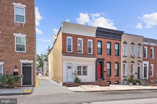 1520 Marshall Street, BALTIMORE, MD 21230 (#MDBA481138) :: The Sebeck Team of RE/MAX Preferred