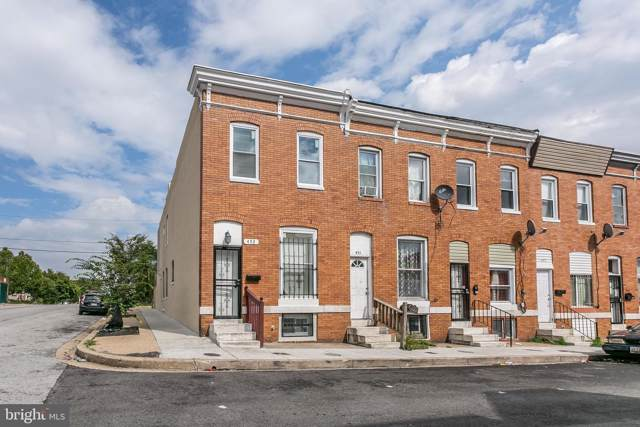 453 N Curley Street, BALTIMORE, MD 21224 (#MDBA481146) :: Homes to Heart Group