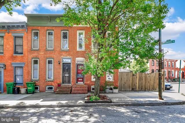 821 W Barre Street, BALTIMORE, MD 21230 (#MDBA481256) :: Great Falls Great Homes