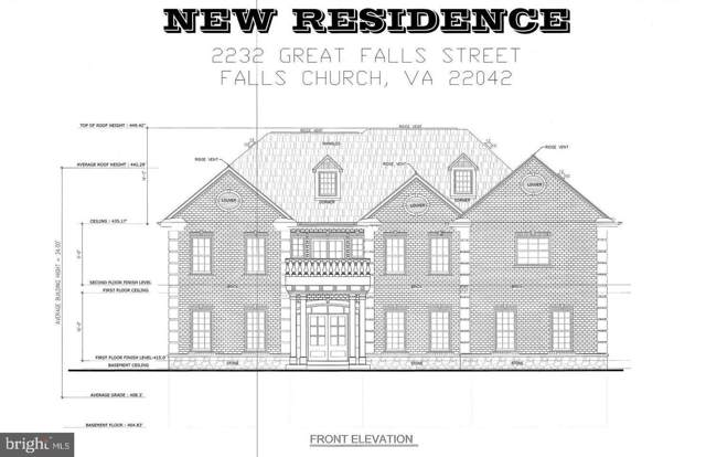 2232 Great Falls Street, FALLS CHURCH, VA 22046 (#VAFX1085430) :: The Putnam Group