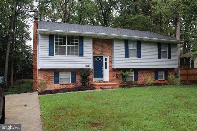 830 Dividing Road, SEVERNA PARK, MD 21146 (#MDAA411072) :: Keller Williams Pat Hiban Real Estate Group