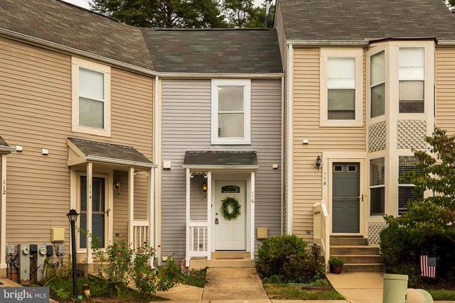116 Forests Edge Place, LAUREL, MD 20724 (#MDAA411772) :: The Licata Group/Keller Williams Realty