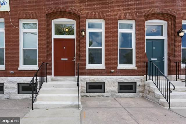 331 E 20TH Street E, BALTIMORE, MD 21218 (#MDBA482306) :: The Vashist Group