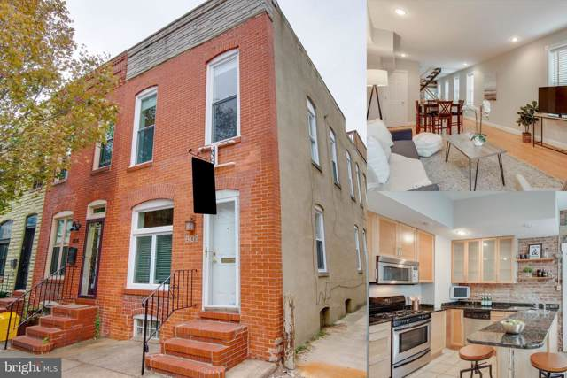 802 S Port Street, BALTIMORE, MD 21224 (#MDBA482378) :: The Sebeck Team of RE/MAX Preferred