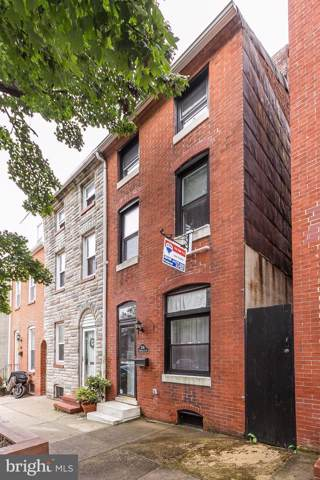 306 S Washington Street, BALTIMORE, MD 21231 (#MDBA482382) :: The Maryland Group of Long & Foster