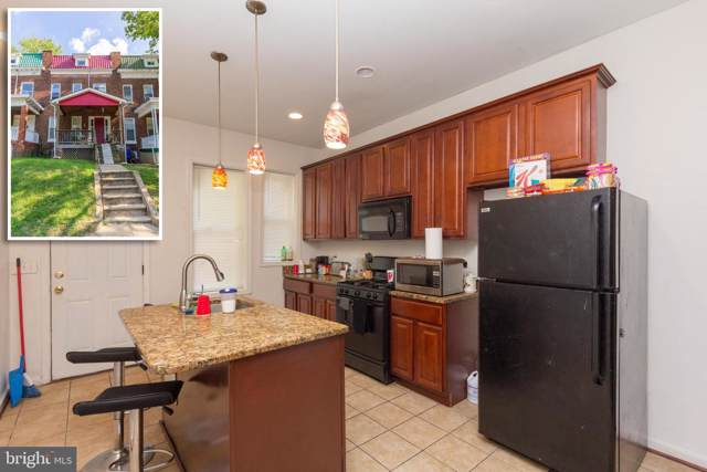 2815 Hilldale Avenue, BALTIMORE, MD 21215 (#MDBA482952) :: The Miller Team