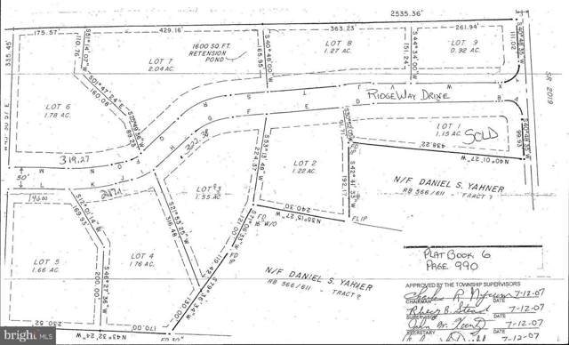 Lot #3 Ridge Way Drive, EVERETT, PA 15537 (#PABD101864) :: Revol Real Estate