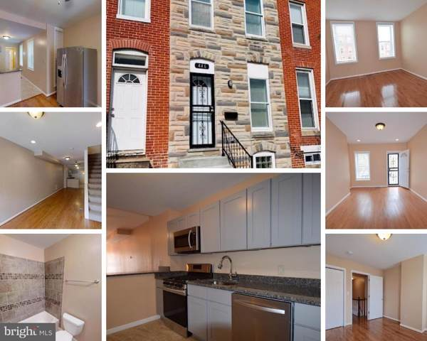 446 N Patterson Park Avenue, BALTIMORE, MD 21231 (#MDBA483168) :: Eng Garcia Grant & Co.