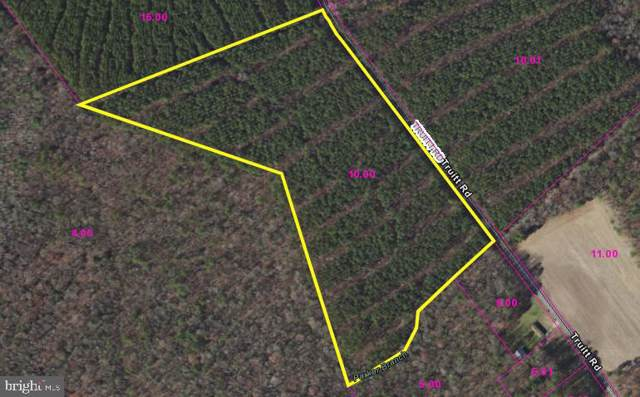 17 Acres Truitt Road, ELLENDALE, DE 19968 (#DESU147636) :: CoastLine Realty