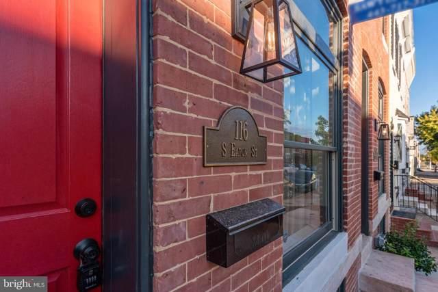 116 S Eaton Street, BALTIMORE, MD 21224 (#MDBA483244) :: Revol Real Estate