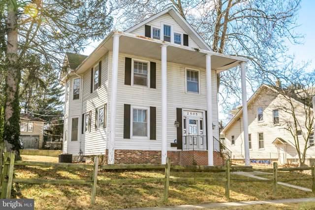 2505 Hamilton Avenue, BALTIMORE, MD 21214 (#MDBA483276) :: Keller Williams Pat Hiban Real Estate Group
