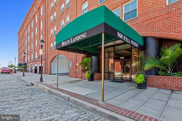 960 Fell Street #415, BALTIMORE, MD 21231 (#MDBA483792) :: The Maryland Group of Long & Foster