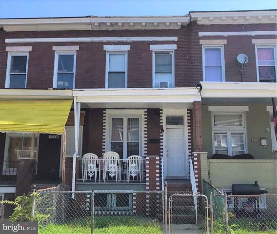 1758 Montpelier Street, BALTIMORE, MD 21218 (#MDBA483856) :: CR of Maryland