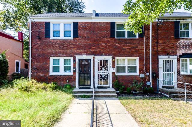 1018 48TH Street NE, WASHINGTON, DC 20019 (#DCDC442182) :: The Licata Group/Keller Williams Realty