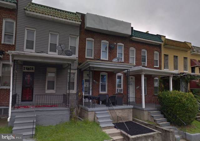 2624 W Franklin Street, BALTIMORE, MD 21223 (#MDBA484104) :: The Maryland Group of Long & Foster Real Estate