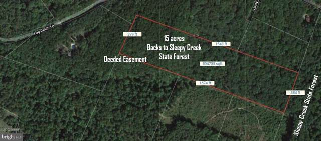 Off Rt 8, BERKELEY SPRINGS, WV 25411 (#WVMO116006) :: Dart Homes