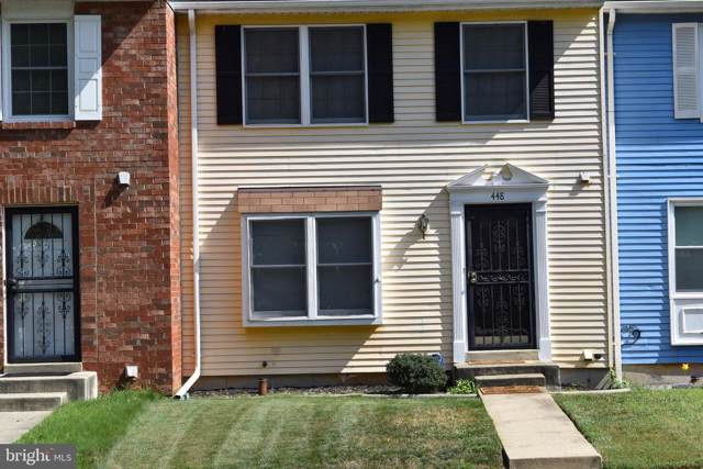 448 Possum Court, CAPITOL HEIGHTS, MD 20743 (#MDPG543840) :: The Vashist Group