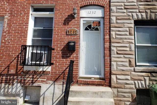 1232 W Pratt Street, BALTIMORE, MD 21223 (#MDBA484472) :: The Vashist Group